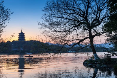lago occidentale hangzhou