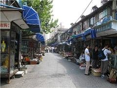 Mercato Dongtai Road dell'antiquariato