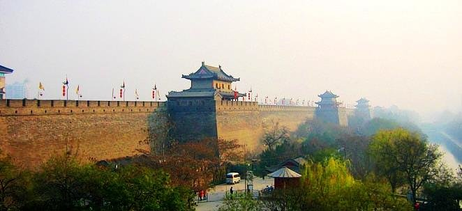 top-xian-city-wall