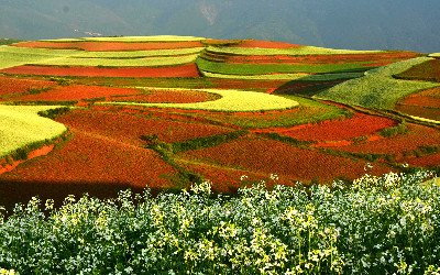 dongchuan terreno rosso