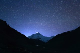 stelle di Mt.Everest