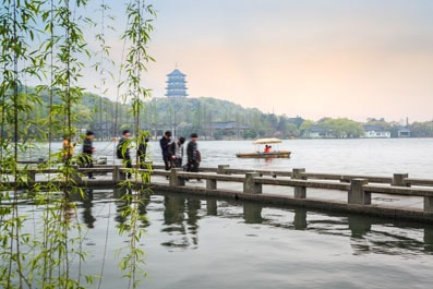 Lago Occidentale di Hangzhou